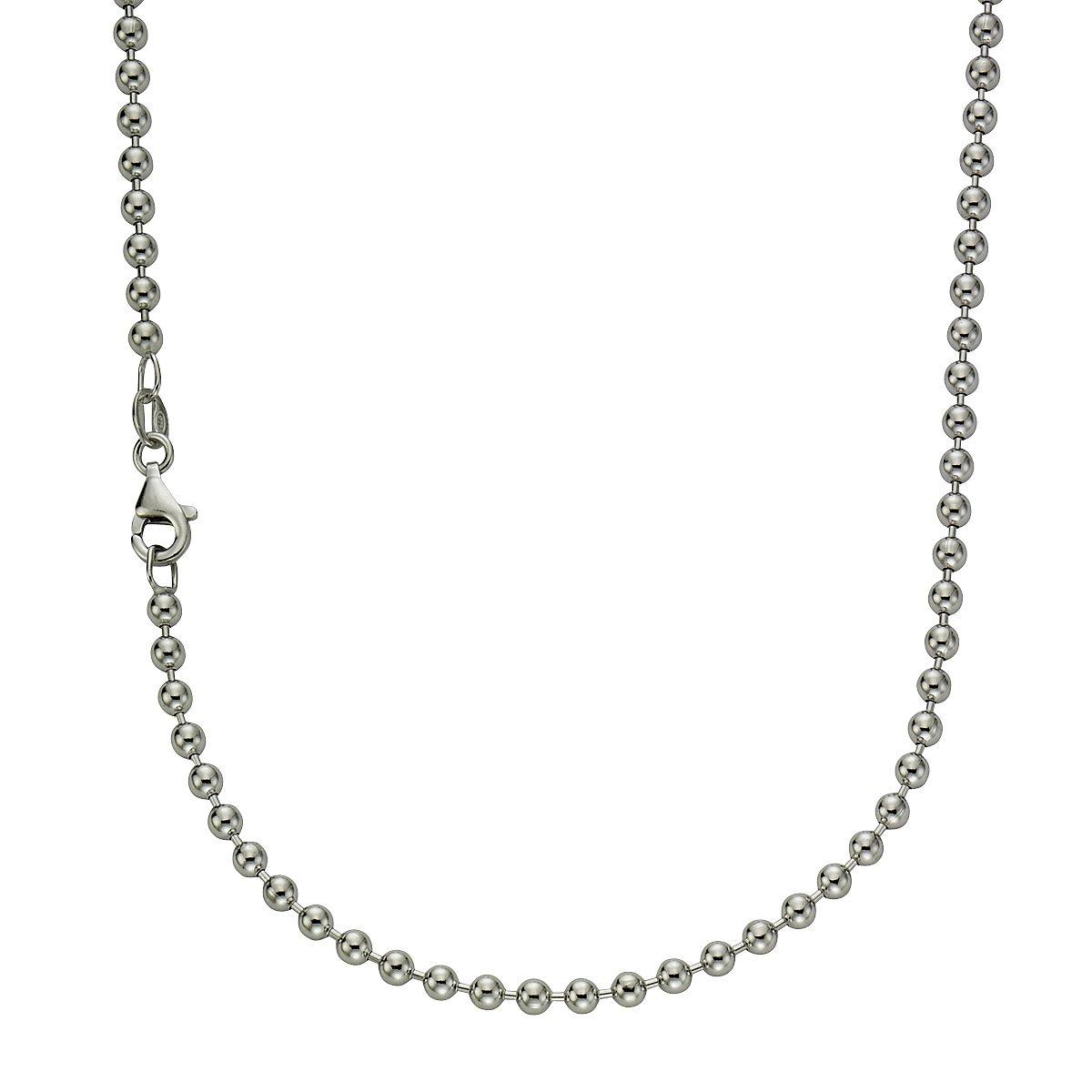 Zeeme Collier »925/- Sterling Silber Kigelkette 70cm«