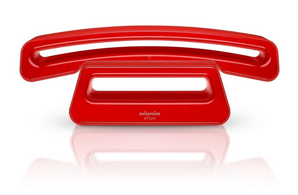 Swissvoice Telefon analog schnurlos »ePure 2« in Rot