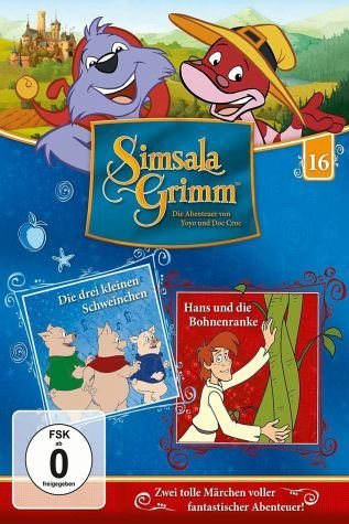 DVD »SimsalaGrimm 16 - Drei kleine Schweinchen /...«