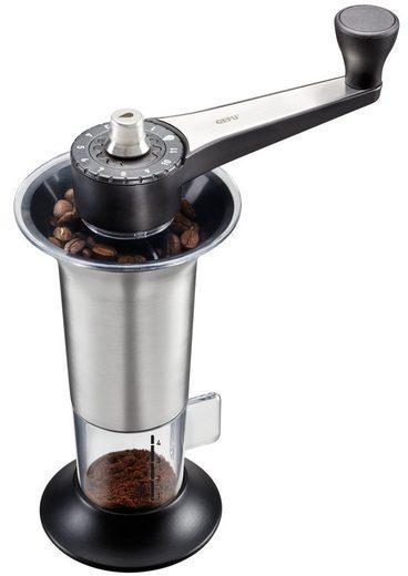 GEFU Kaffeemühle »LORENZO«, Kegelmahlwerk