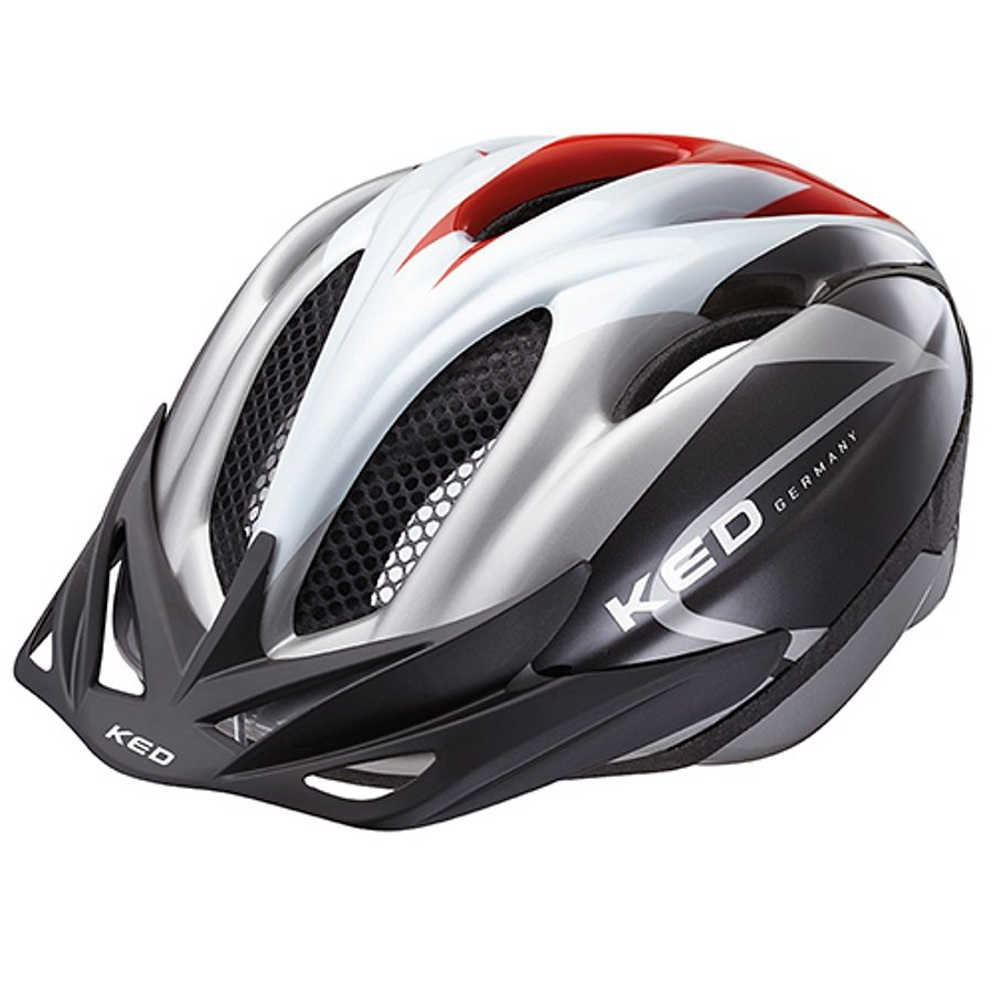 KED Fahrradhelm »Joker Helmet« in weiß