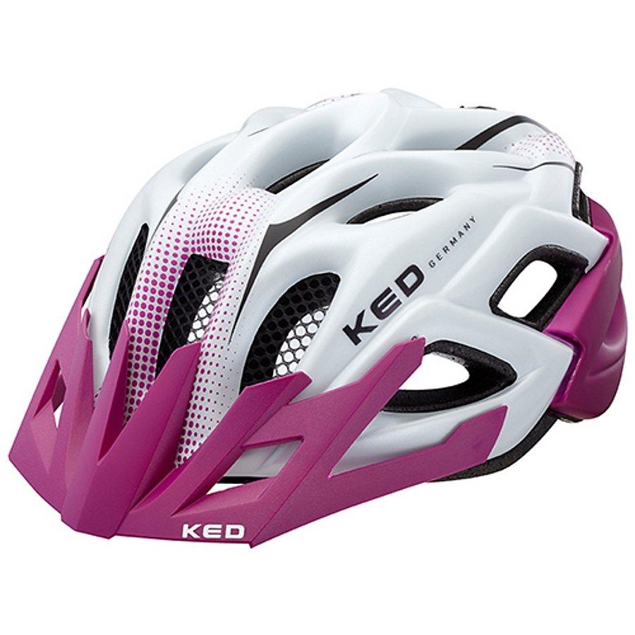 KED Fahrradhelm »Status Jr. Helmet« in weiß