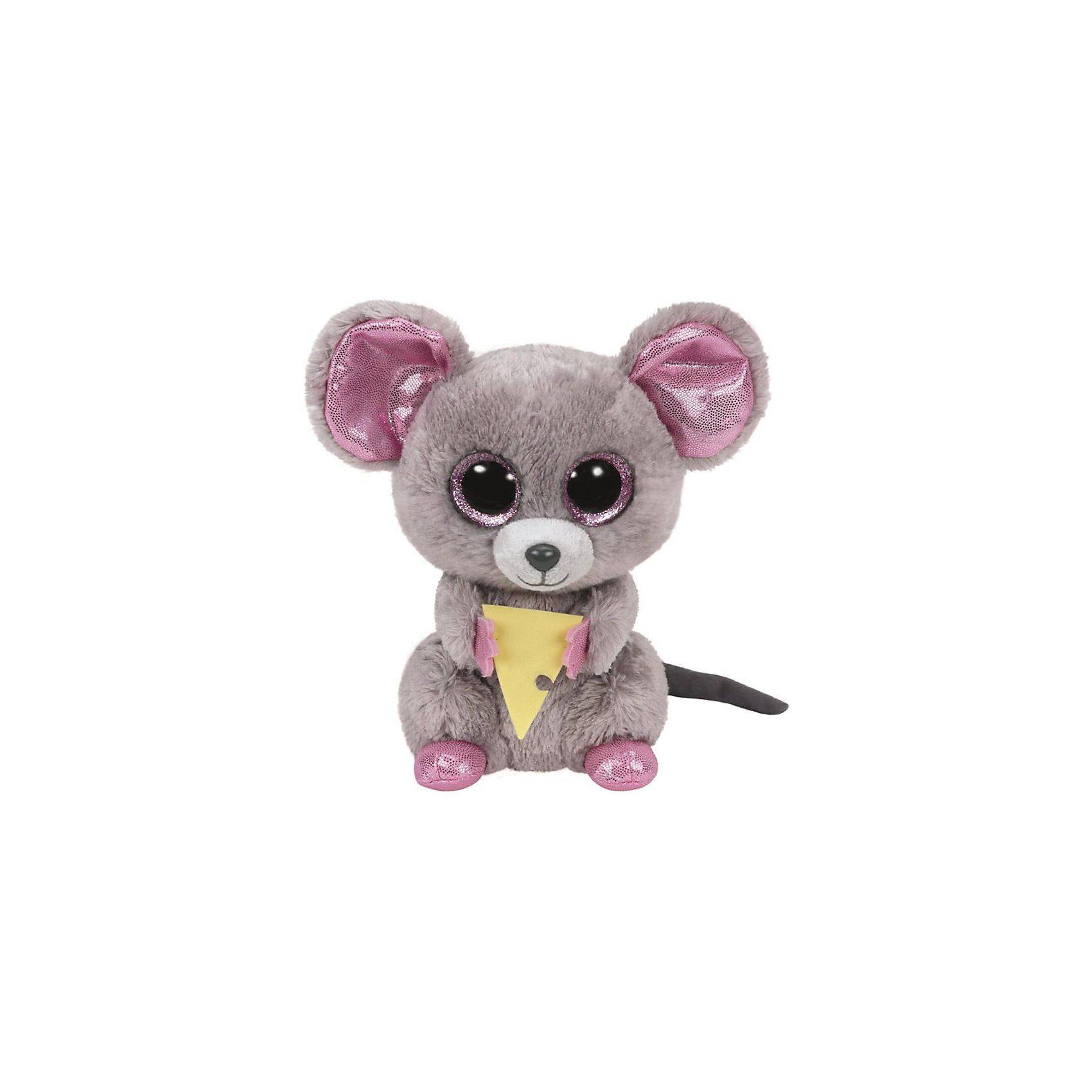 Ty 7136192 Beanie Boo 15cm Maus Squeaker