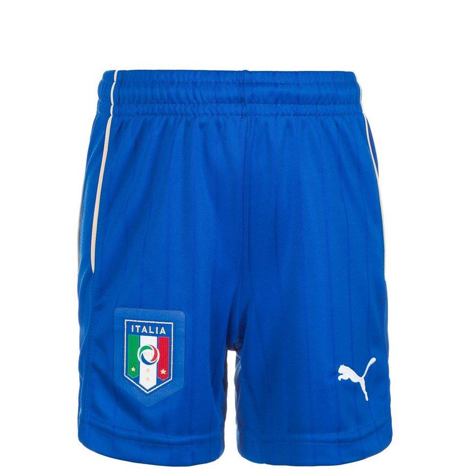 PUMA Italien Short Away EM 2016 Kinder in blau
