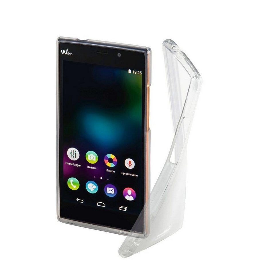 Hama Cover Crystal für Wiko Ridge Fab 4G, Transparent in Transparent