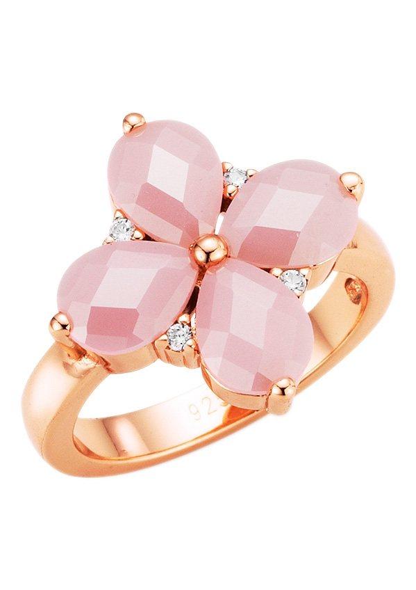 Giorgio Martello Milano Ring, »195067897000« in Silber 925, roségoldfarben