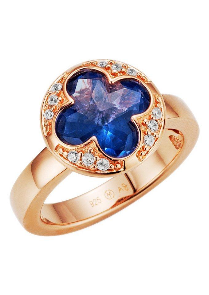 Giorgio Martello Milano Ring, »195065397000« in Silber 925, roségoldfarben
