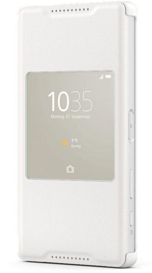 Sony Handytasche »Style Cover SCR44 für Xperia Z5 compact« in Weiß