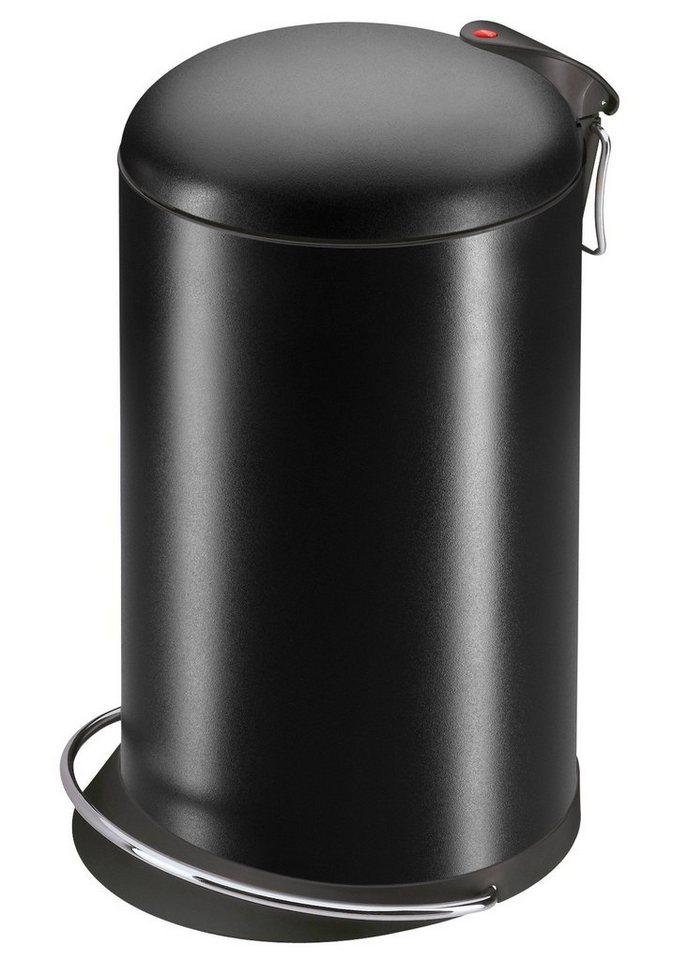 Tret-Abfallsammler »TopDesign 16«, schwarz in schwarz