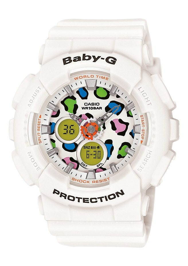 "Casio Baby-G, Chronograph, ""BA-120LP-7A1ER"" in weiss"