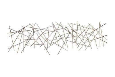 KUNSTLOFT Metallbild »Stick Together«, handgefertigte Wanddekoration aus Metall