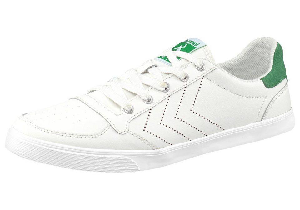 Hummel »Slimmer Stadil Ace Sneaker« Sneaker in weiß-grün