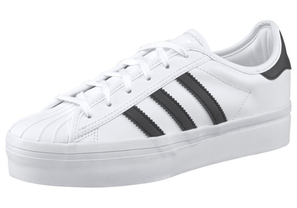 adidas Originals Superstar Rize W Sneaker in Weiß-Schwarz