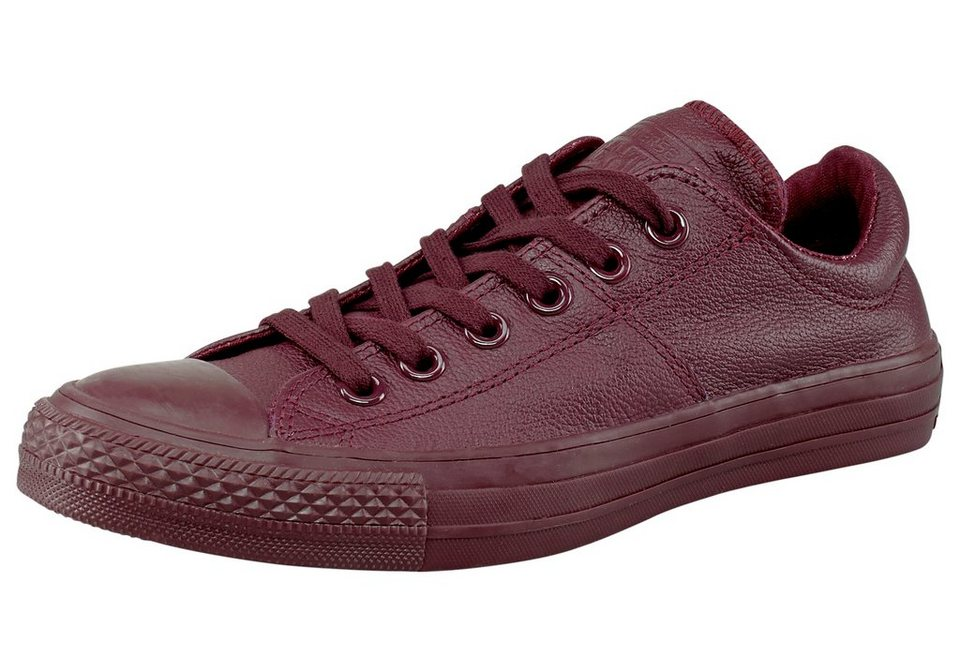 Converse Chuck Taylor All Star Madison Leather Sneaker in Bordeaux-rot