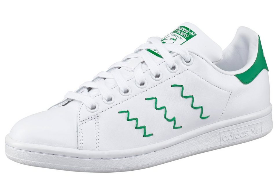 adidas Originals »Stan Smith W« Sneaker in weiß-grün