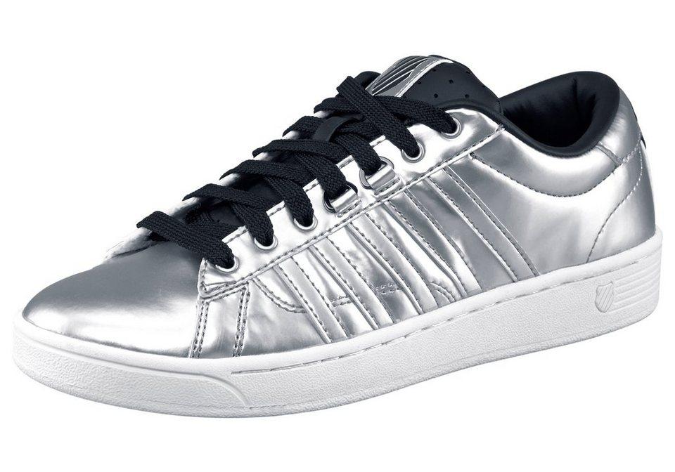 K-Swiss Hoke Metallic Sneaker in Silberfarben