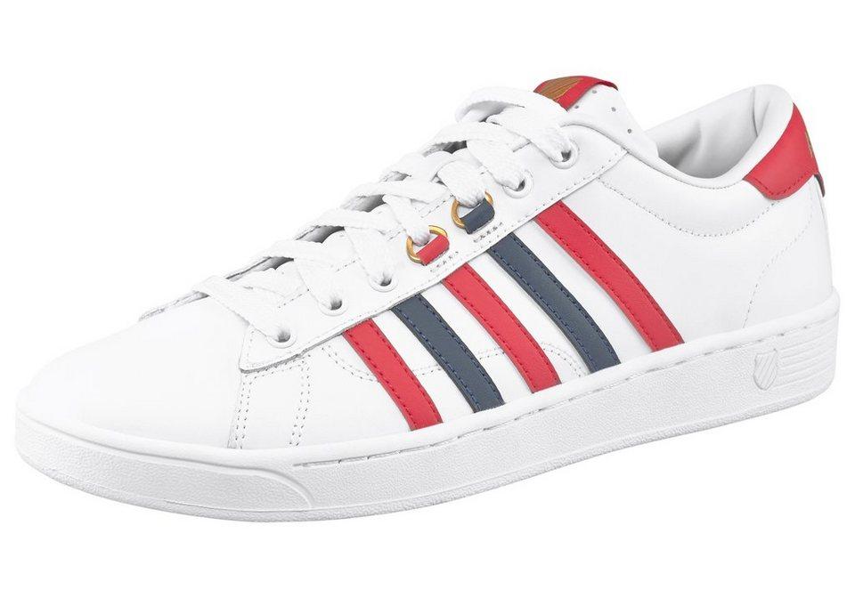 K-Swiss Hoke CMF Sneaker in Weiß-Blau-Rot