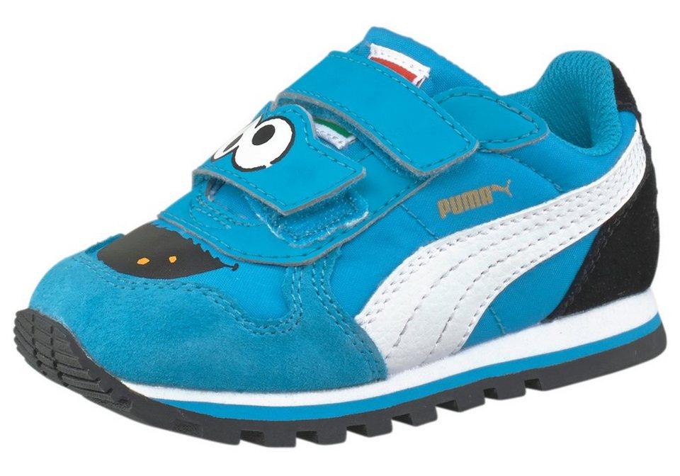 PUMA ST Runner Sesamstraße Kids Sneaker in Blau-Weiß