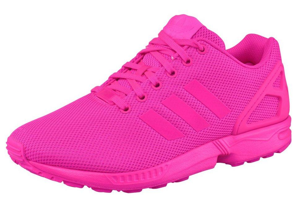 adidas Originals ZX Flux Sneaker in Pink
