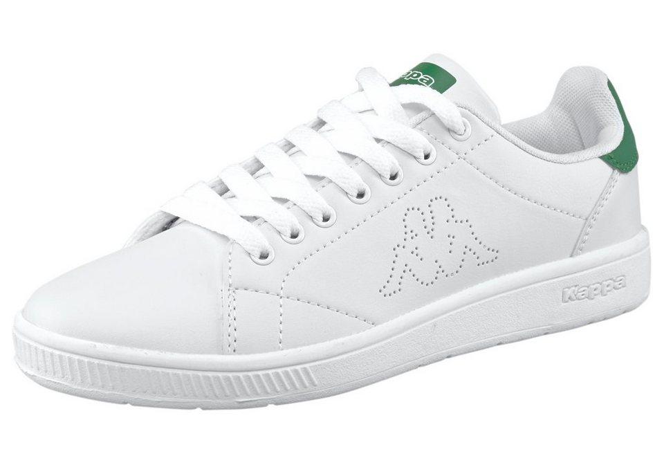 Kappa Court Sneaker in Weiß-Grün