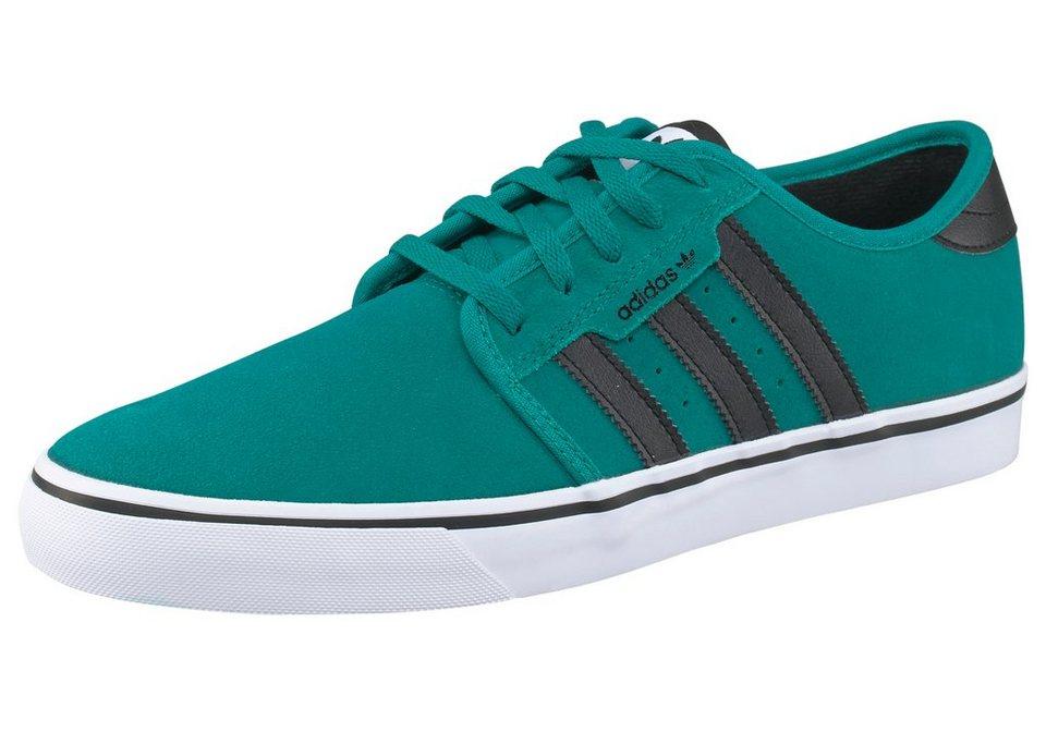 adidas Originals Seeley Sneaker in Grün-Schwarz