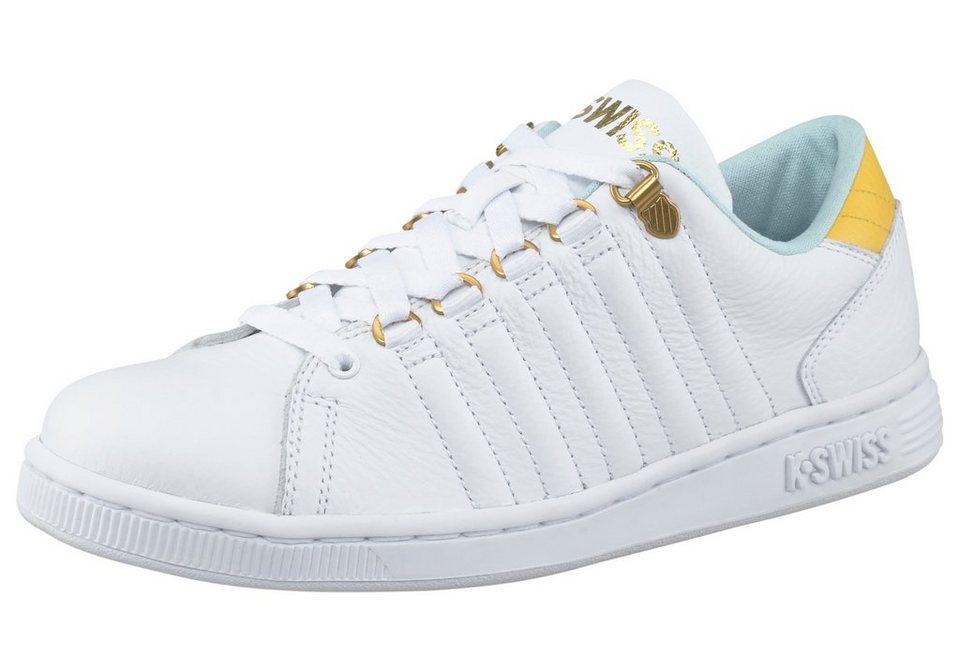 K-Swiss Lozan III Sneaker in Weiß-Gelb-Türkis