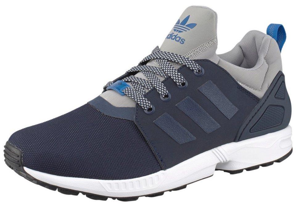 adidas Originals ZX Flux NPS UPDT Sneaker in Marine-Grau