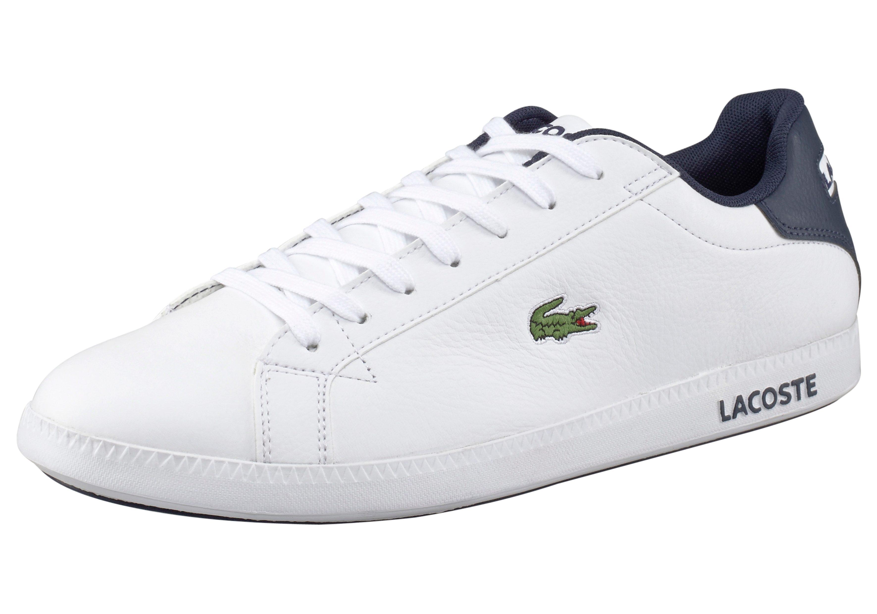 Lacoste Graduate LCR3 Sneaker online kaufen  weiß-blau