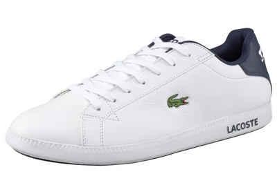 Lacoste Sneaker Weiß Rot