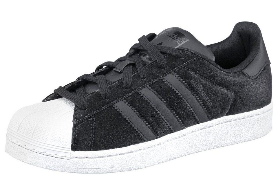 adidas Originals Superstar W Sneaker in Schwarz