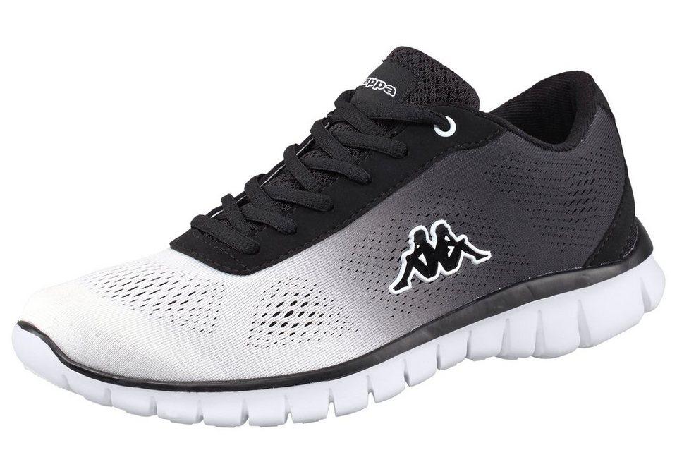 Kappa Sunrise Light Sneaker in Schwarz-Weiß