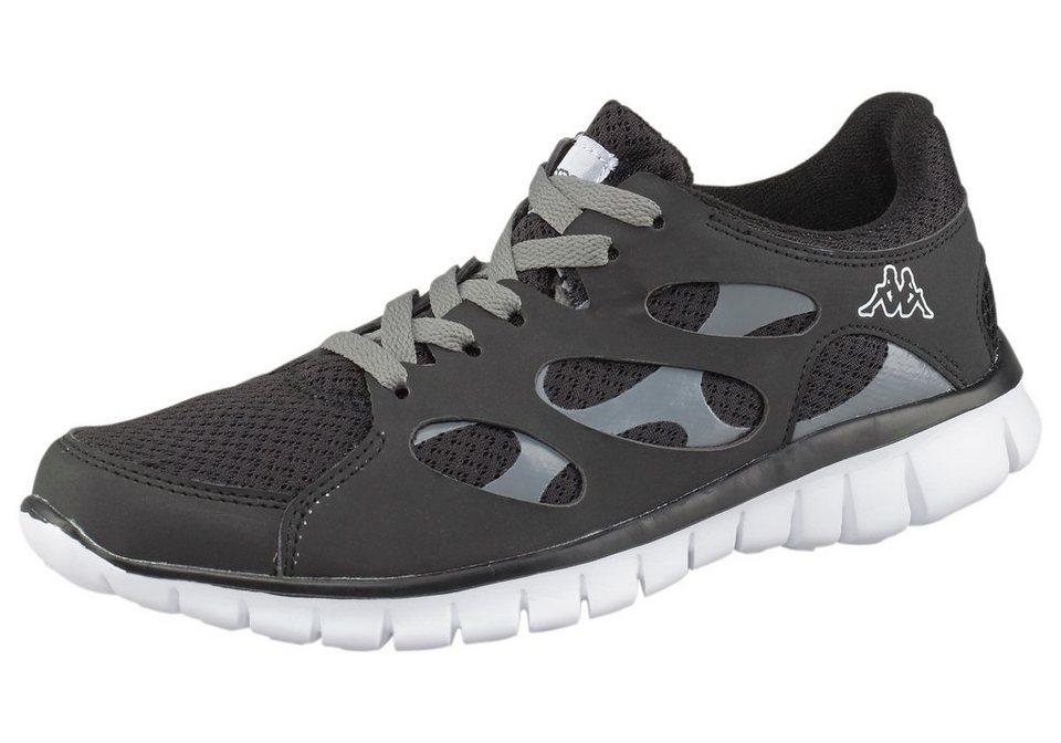 Kappa Fox Light Sneaker in Schwarz-Grau