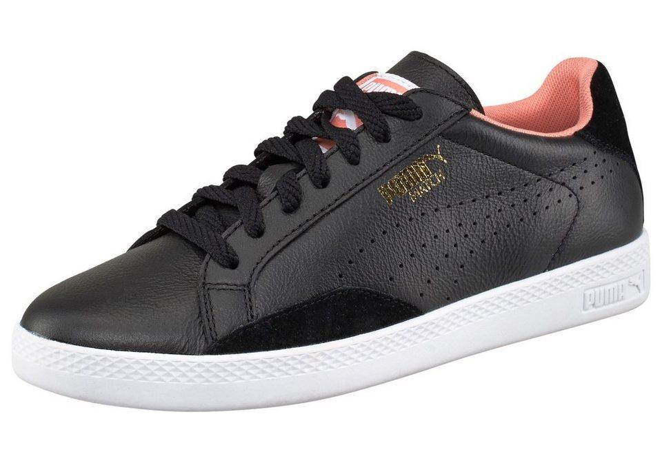 PUMA Match Lo Basic Sport Sneaker in Schwarz-Weiß