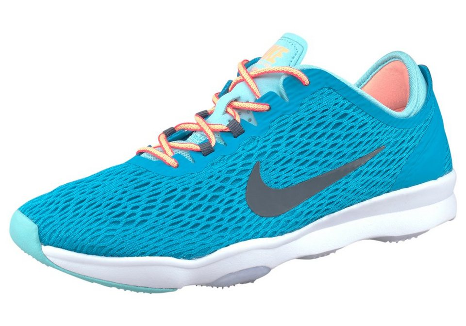 Nike Zoom Fit Wmns Fitnessschuh in Türkis