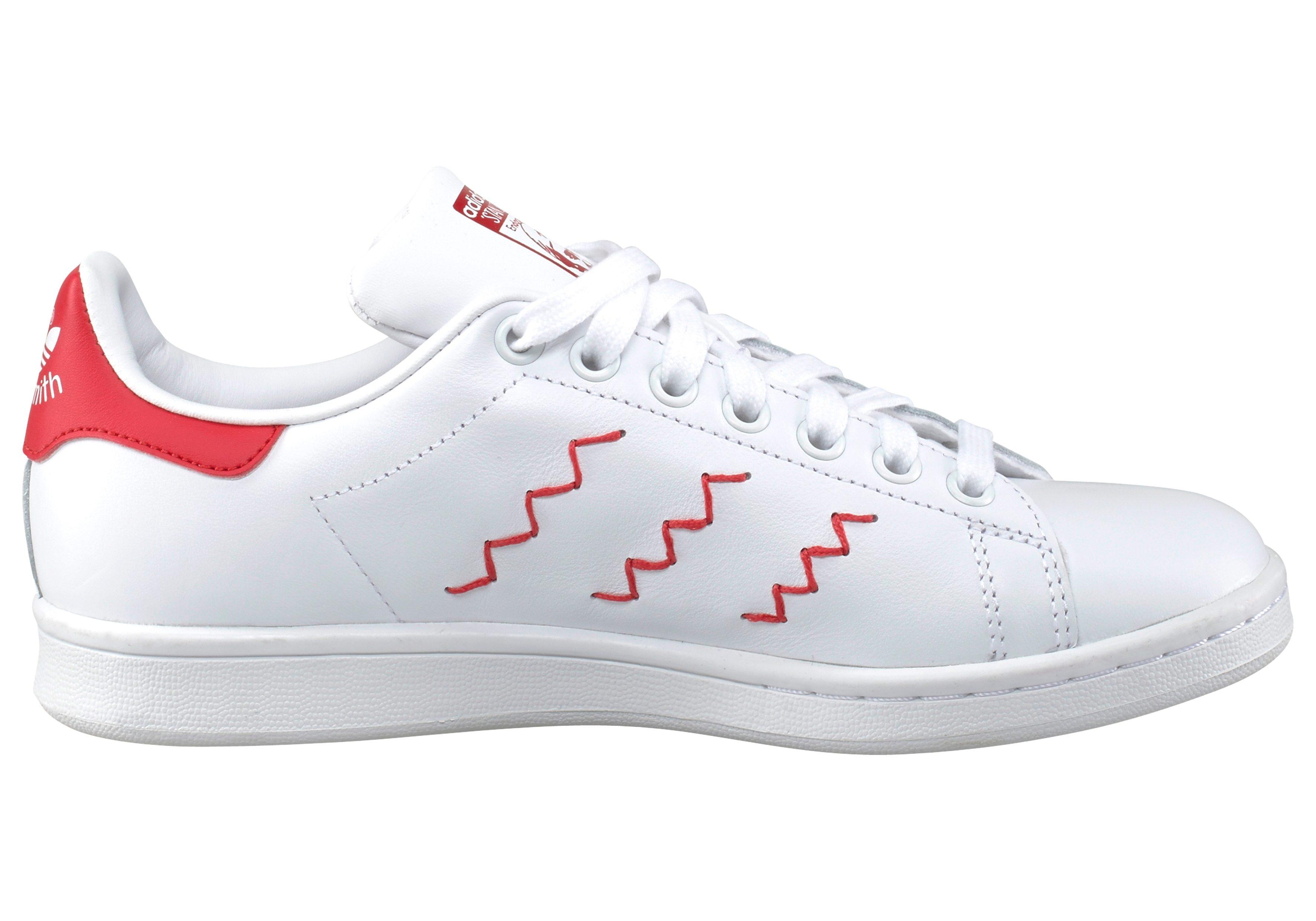 adidas Originals Stan Smith W Sneaker kaufen  weiß-rot