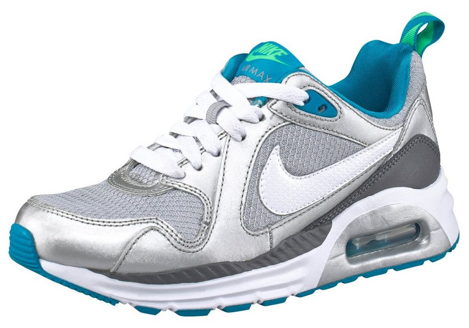 Nike Air Max Trax Sneaker in Silberfarben
