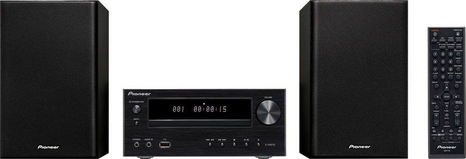 Pioneer X-HM15 Kompaktanlage, RDS, 1x USB in schwarz