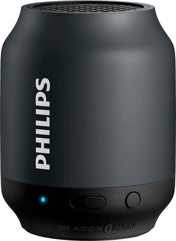 philips bt50 bluetooth lautsprecher online kaufen otto. Black Bedroom Furniture Sets. Home Design Ideas