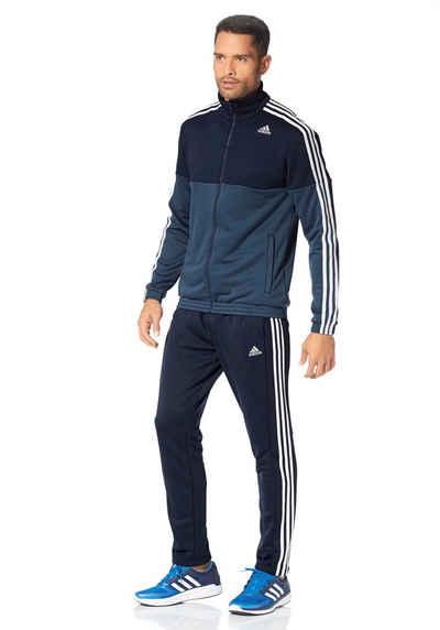 adidas Performance TRACKSUIT TRAIN KNITTED Trainingsanzug Sale Angebote Schwarzbach