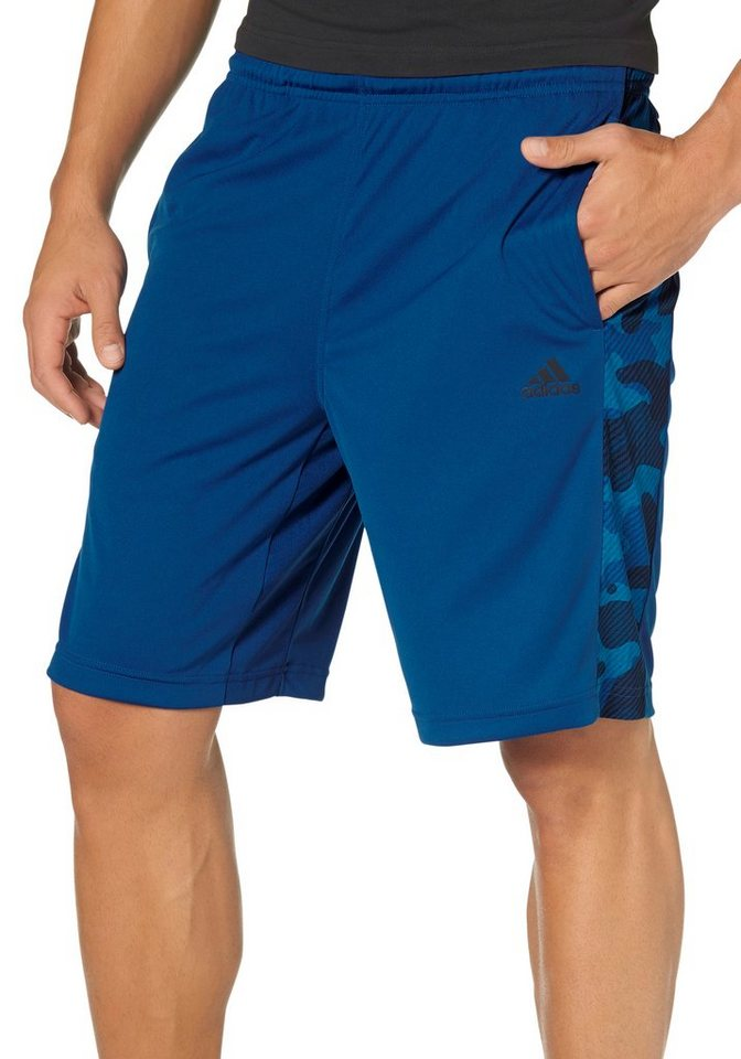 adidas Performance CLIMA365 SHORT Funktionsshorts in Blau-Tarnfarben