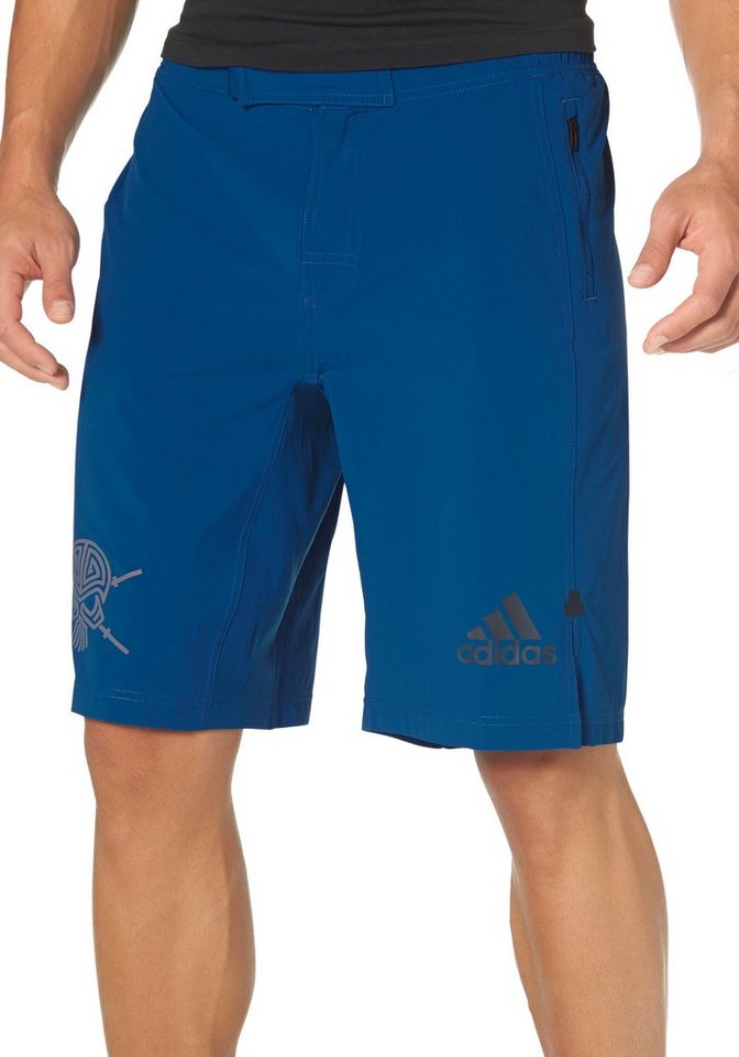 adidas Performance S3 SHORT WOVEN Funktionsshorts in Blau