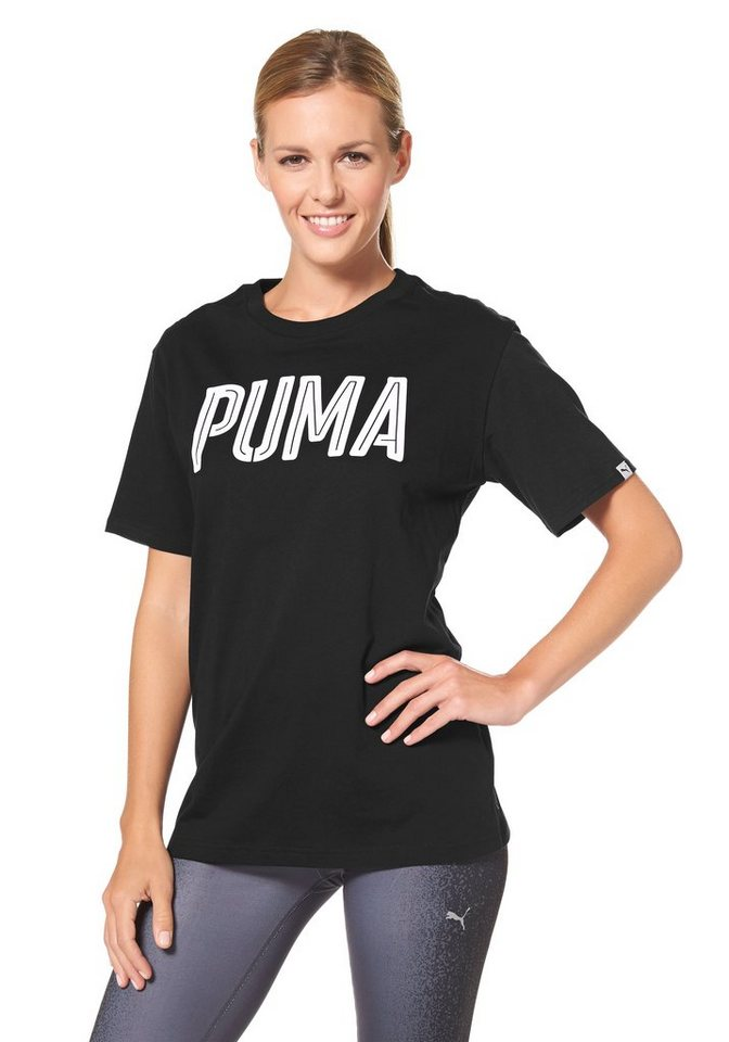 PUMA STYLE INJ THE SWAGGER TEE T-Shirt in Schwarz
