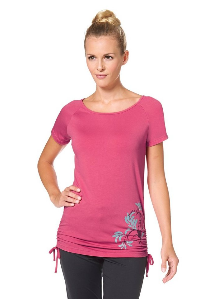 Ocean Sportswear Yogashirt in Pink