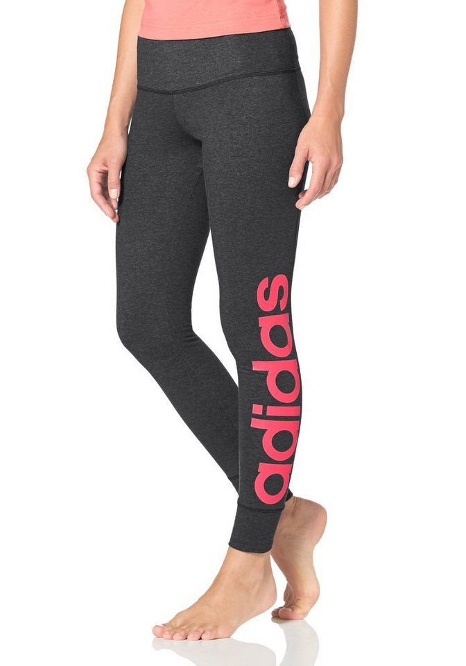 adidas performance essentials linear tight leggings online kaufen otto. Black Bedroom Furniture Sets. Home Design Ideas