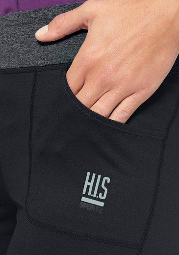 H.I.S Jazzpants, Bund mit Wickeloptik