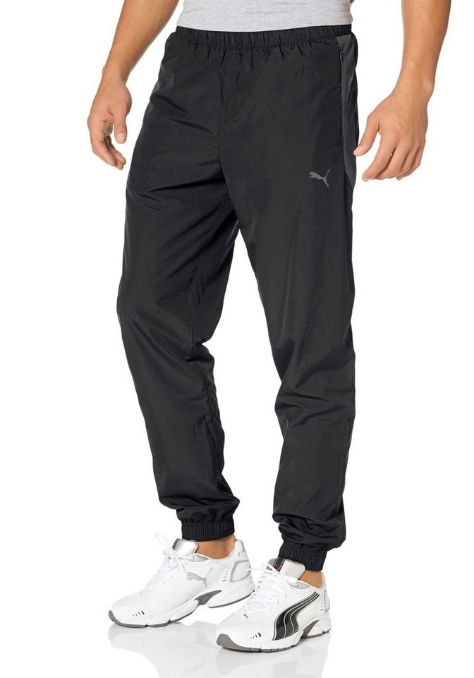 PUMA ACTIVE COOL WOVEN PANTS Sporthose in Schwarz