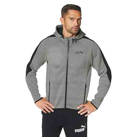 Puma USAIN BOLT HOODED KNIT JACKET Kapuzensweatjacke