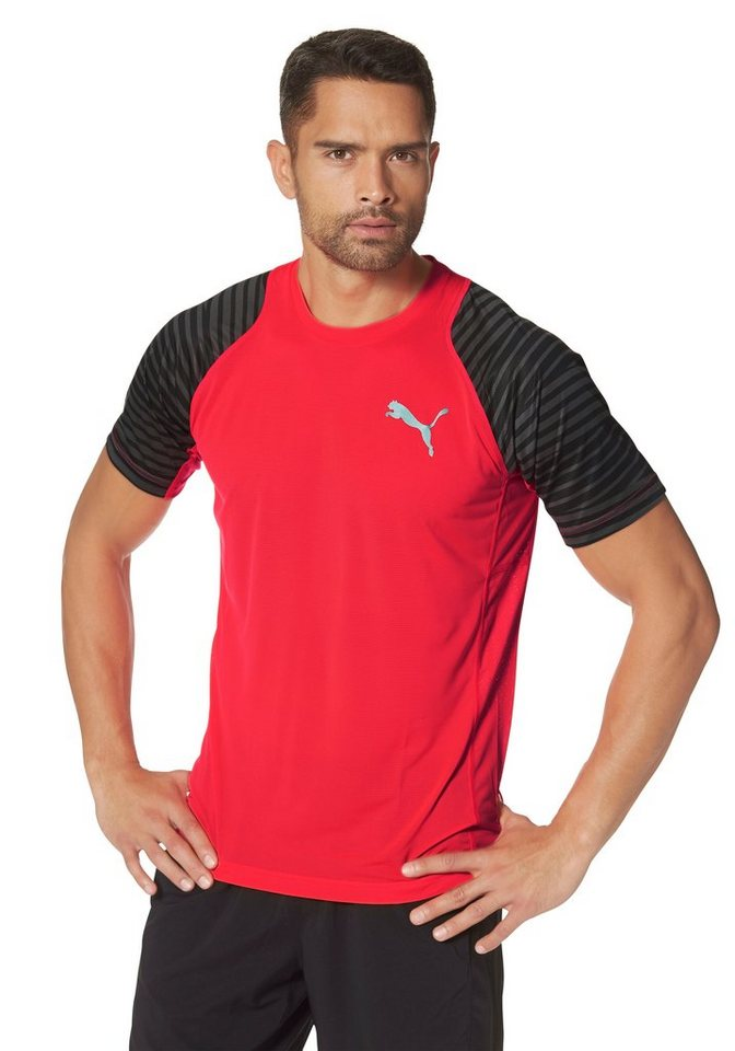 PUMA VENT GRAPHIC TEE Funktions-T-Shirt in Rot