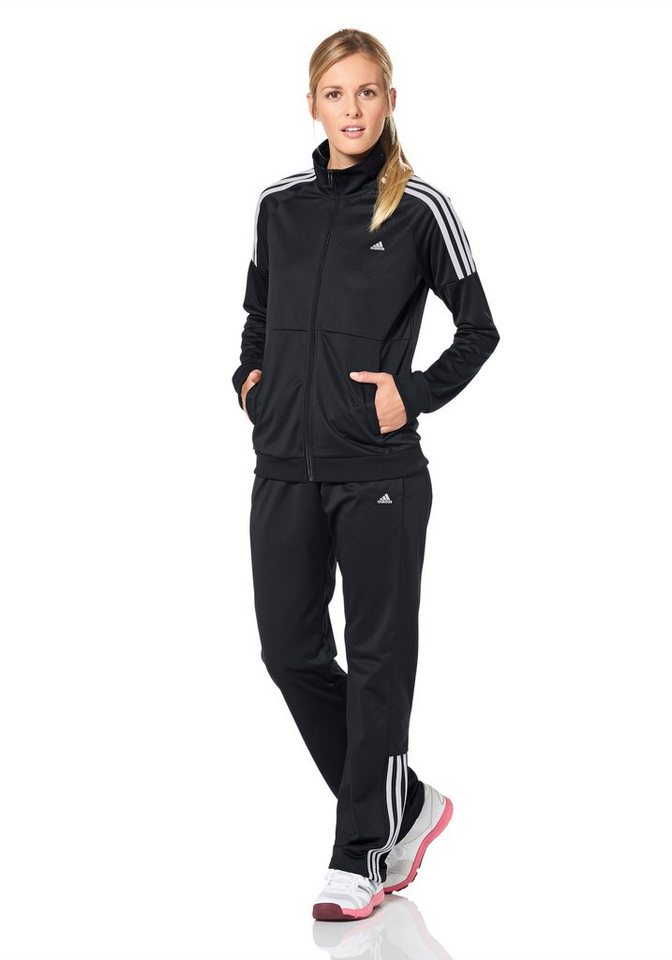 adidas Performance FRIEDA SUIT Trainingsanzug in Schwarz