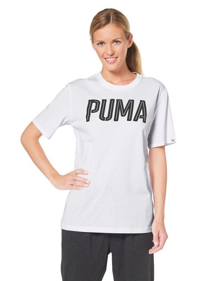 PUMA STYLE INJ THE SWAGGER TEE T-Shirt in Weiß